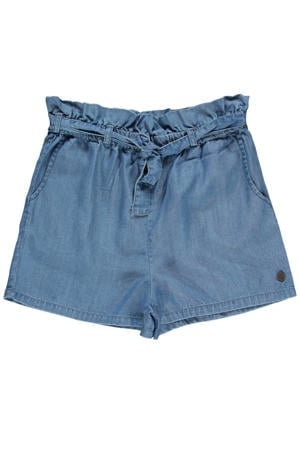 high waist straight fit short Baya 05 bleached used
