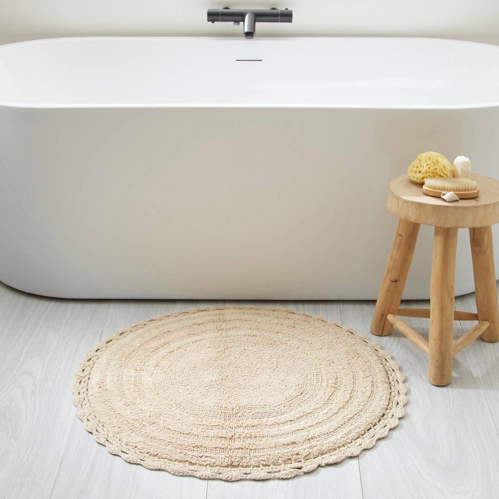 Wehkamp Home badmat (72x72 cm), Beige