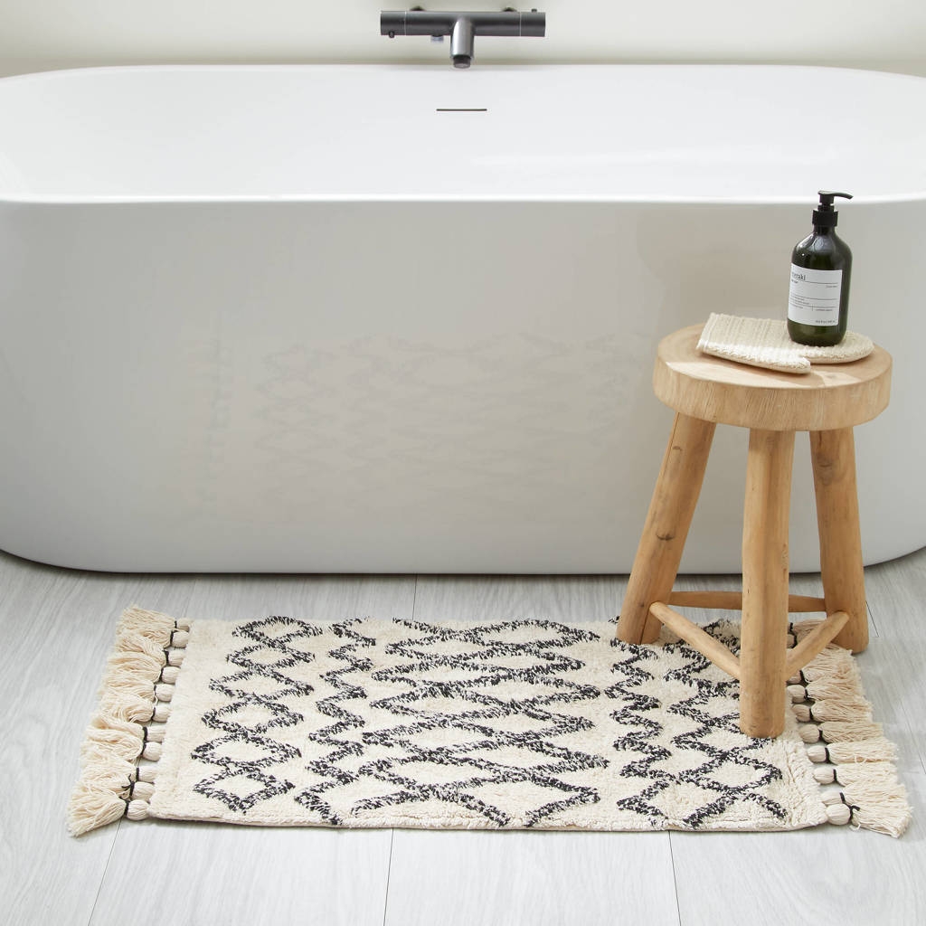 Wehkamp Home badmat (80x50 cm), Ecru
