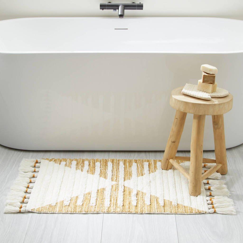 Wehkamp Home badmat (80x50 cm), Goud