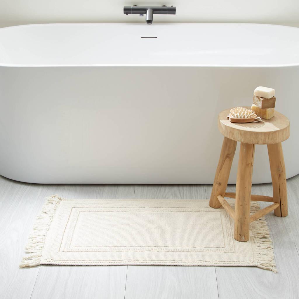 Wehkamp Home badmat (80x50 cm), Naturel