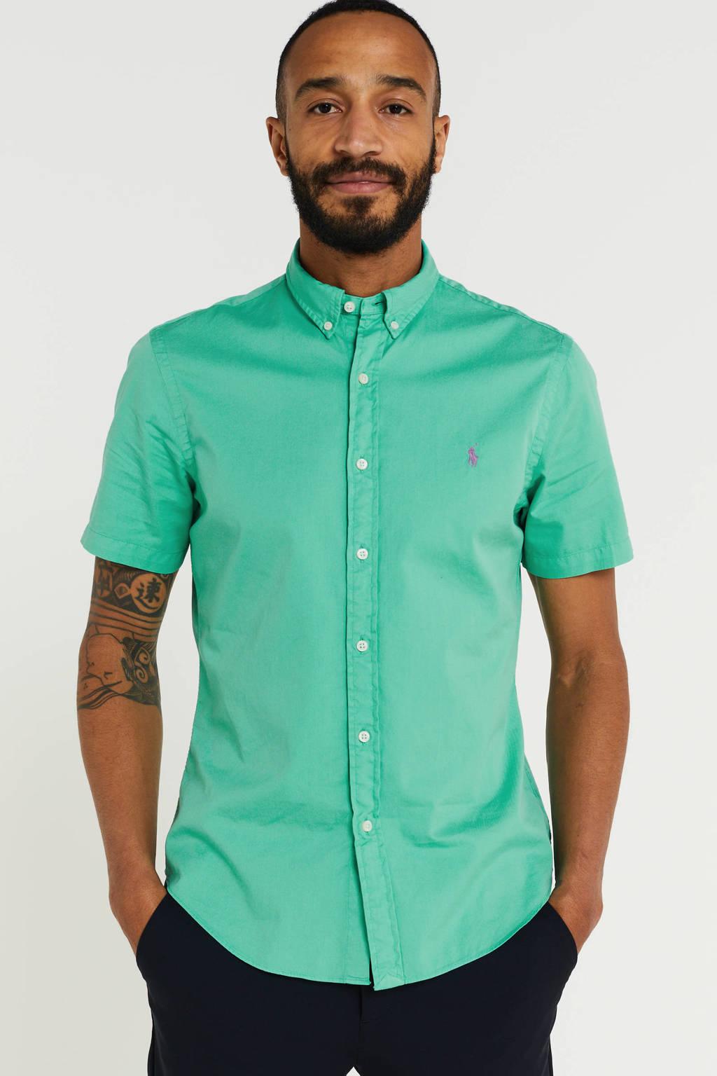 POLO Ralph Lauren regular fit overhemd mintgroen, Mintgroen