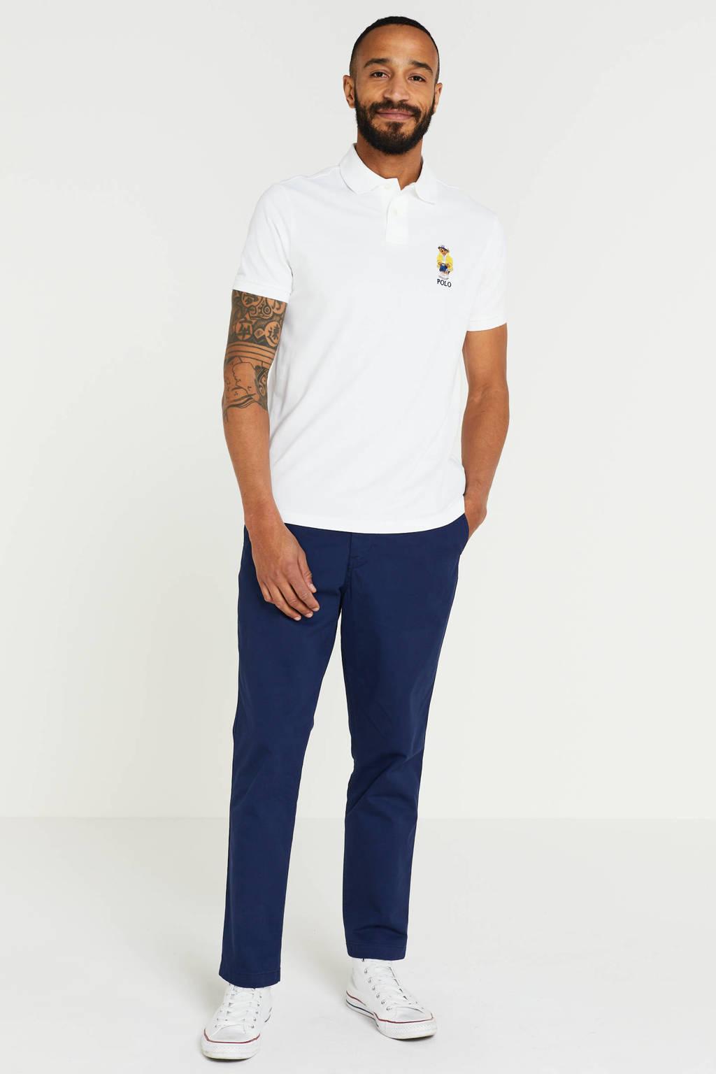 POLO Ralph Lauren regular fit chino donkerblauw, Donkerblauw