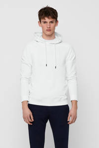 ONLY & SONS hoodie Millenium van biologisch katoen wit, Wit