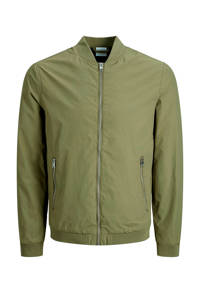 JACK & JONES ESSENTIALS bomberjack groen, Lichtgroen
