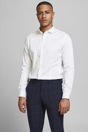 slim fit overhemd JPRBLAPARMA wit