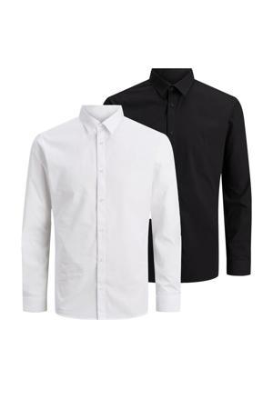overhemd (set van 2) zwart/wit