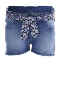 Quapi Girls regular fit jeans short Fonne denim blue, Denim blue