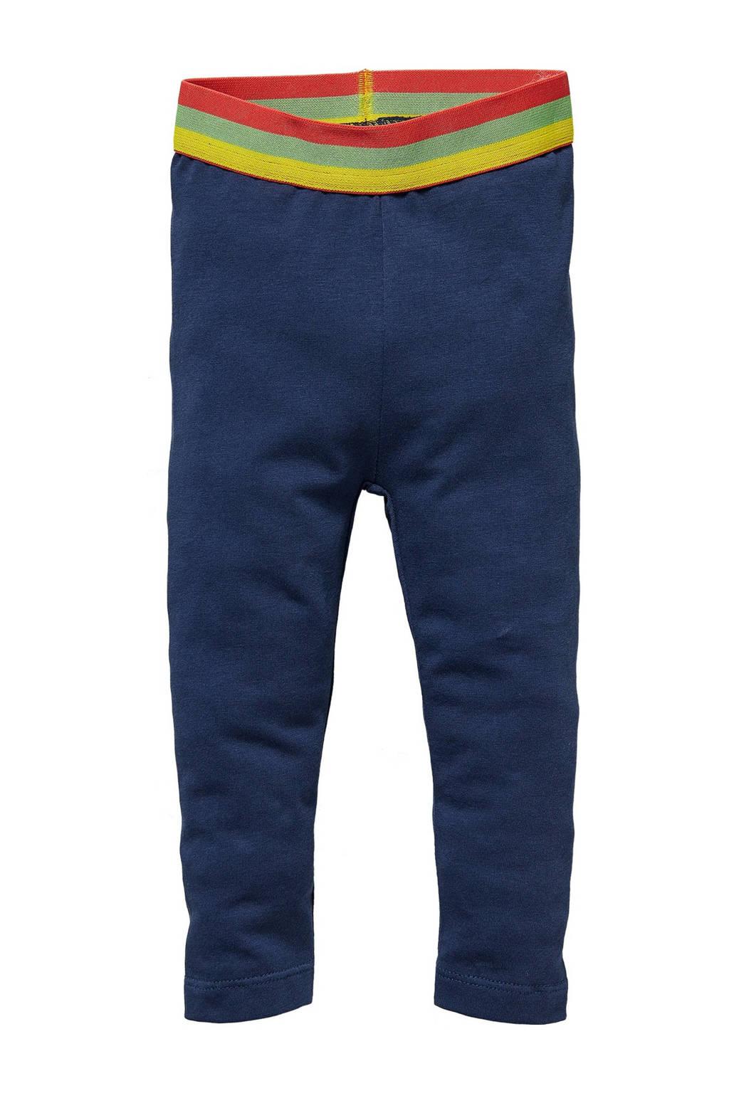 Quapi Mini regular fit legging Gwen donkerblauw, Donkerblauw