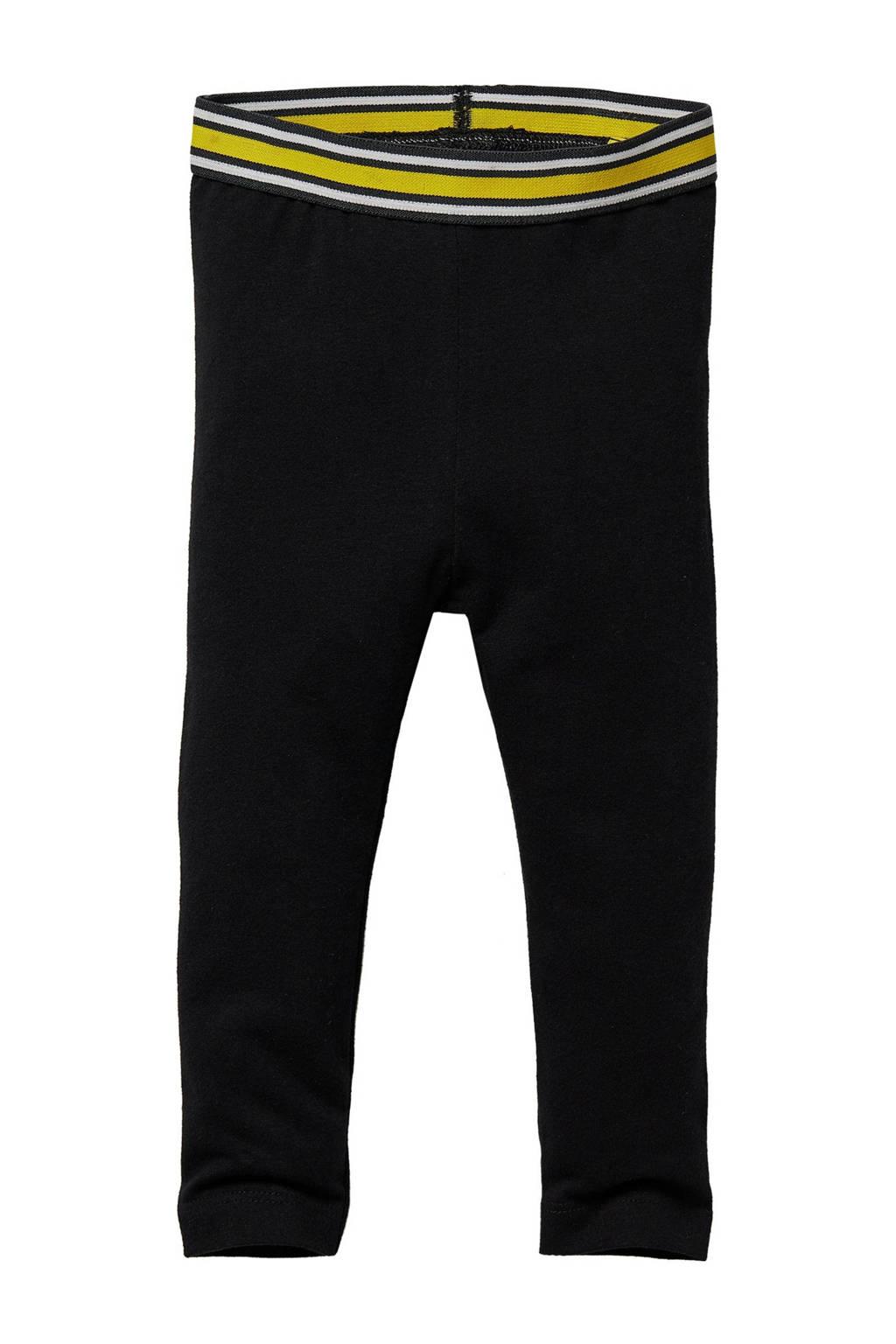 Quapi Mini regular fit legging Gwen zwart, Zwart