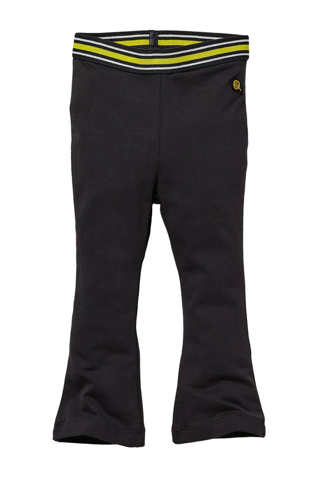 Quapi Mini regular fit broek Guusje zwart, Zwart