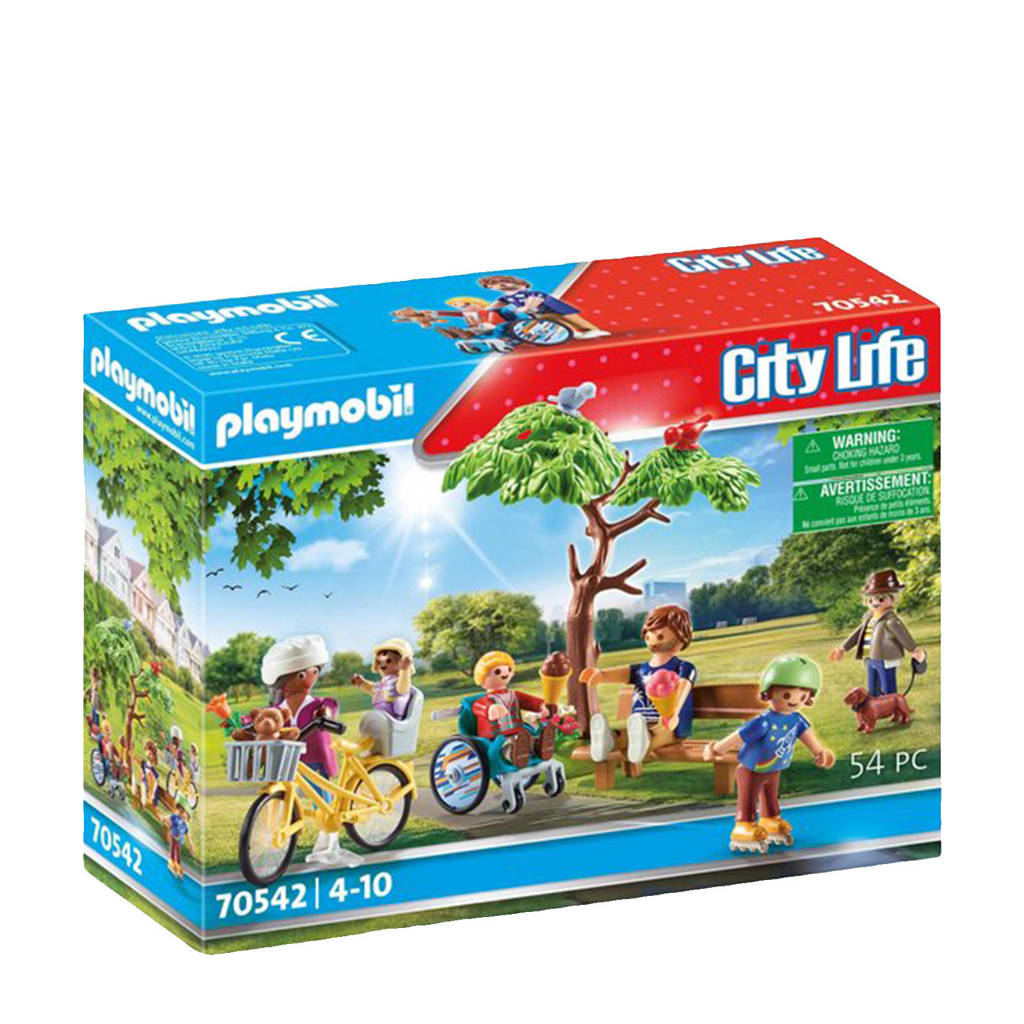 Playmobil City Life  In het stadspark  70542