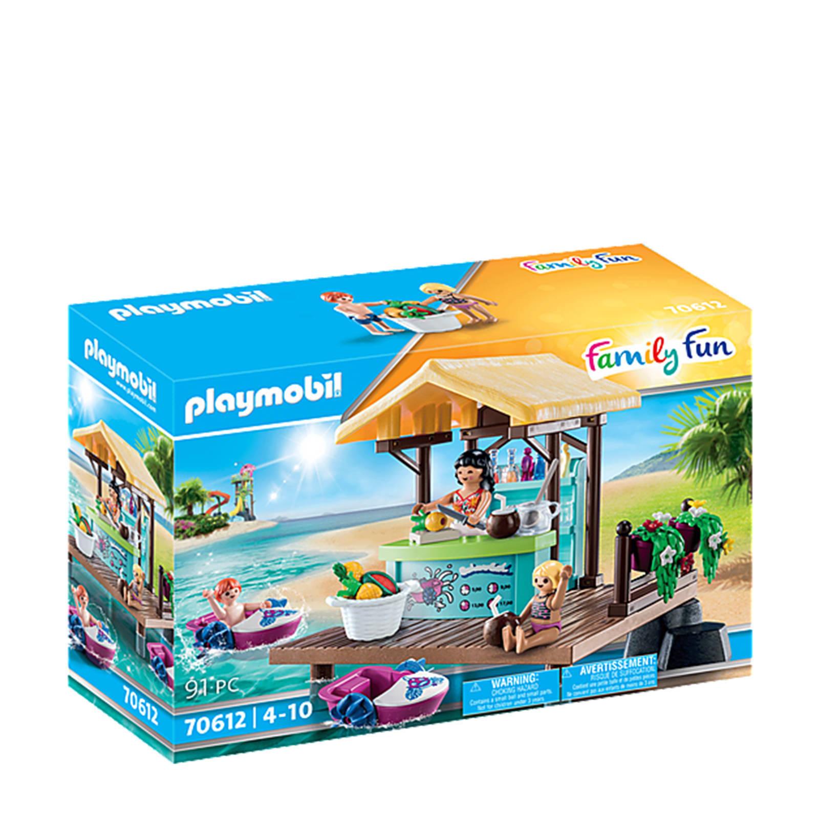 PLAYMOBIL ® Family Fun Paddle Boat verhuur met Juice Bar 70612 online kopen