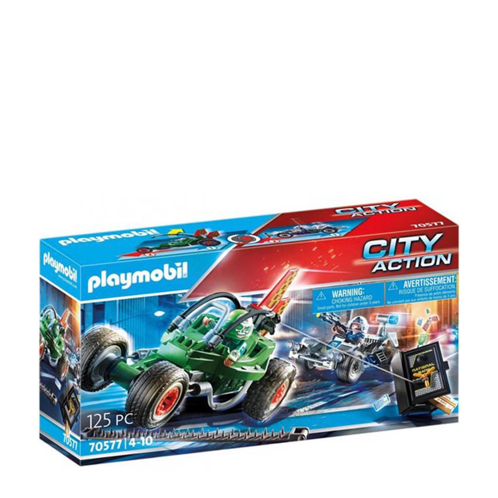 Playmobil City Action  Politiekart: achtervolging van de kluisrover 70577