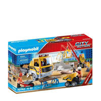 Playmobil City Action  Bouwplaats met kiepwagen 70742
