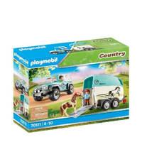 Playmobil Country  Auto met aanhanger 70511