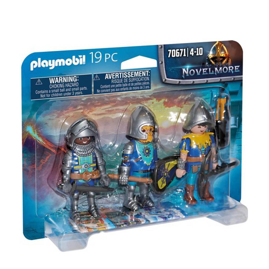 Playmobil Novelmore  Set van 3 Novelmore ridders 70671