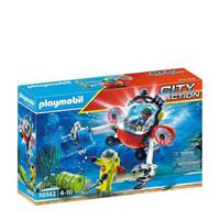 Playmobil City Action  Redding op zee: omgevingsmissie met duikboot 70142