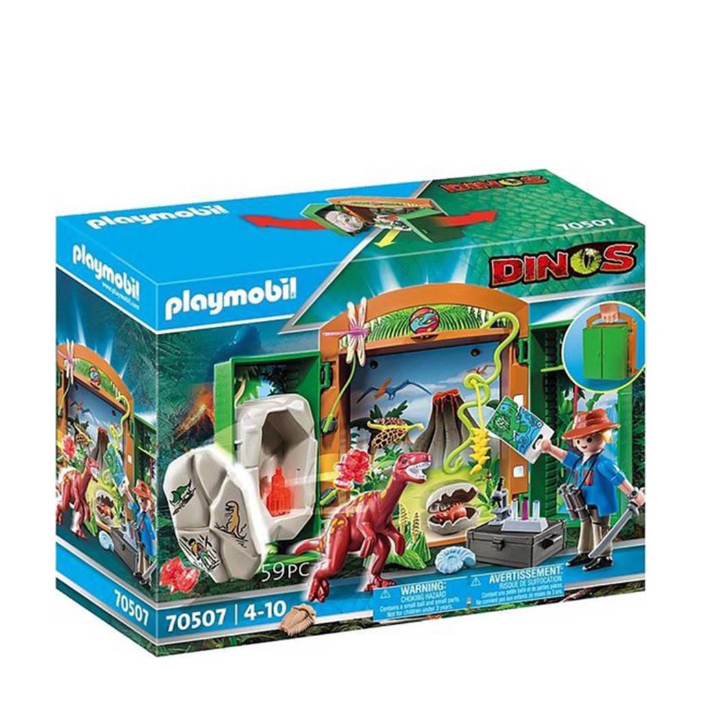 Playmobil Dinos  Speelbox 'Dino-onderzoeker' 70507