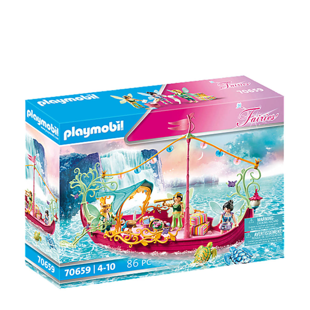 Playmobil Fairies  Romantische feeënboot  70659