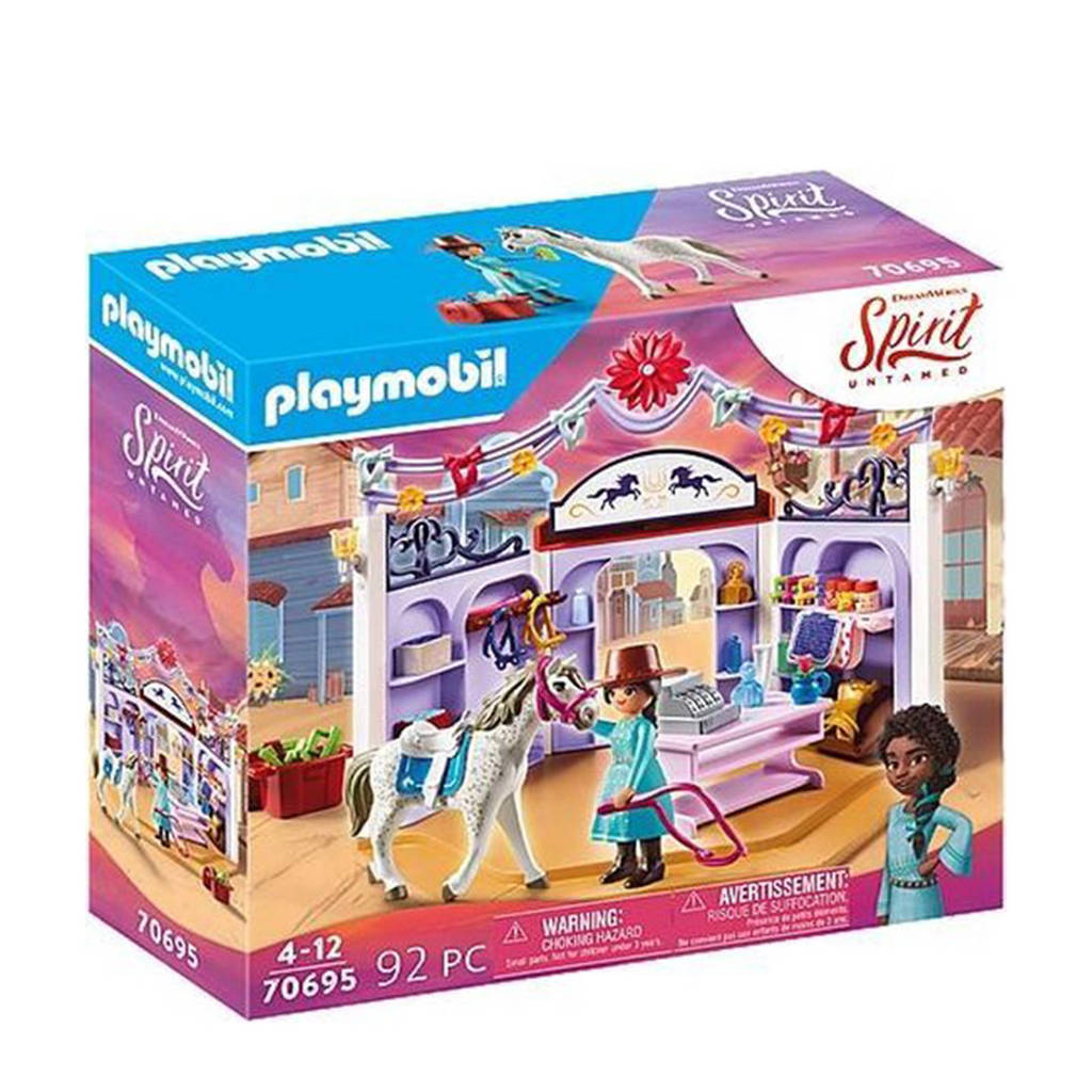 Playmobil Spirit  Miradero ruitersportwinkel 70695
