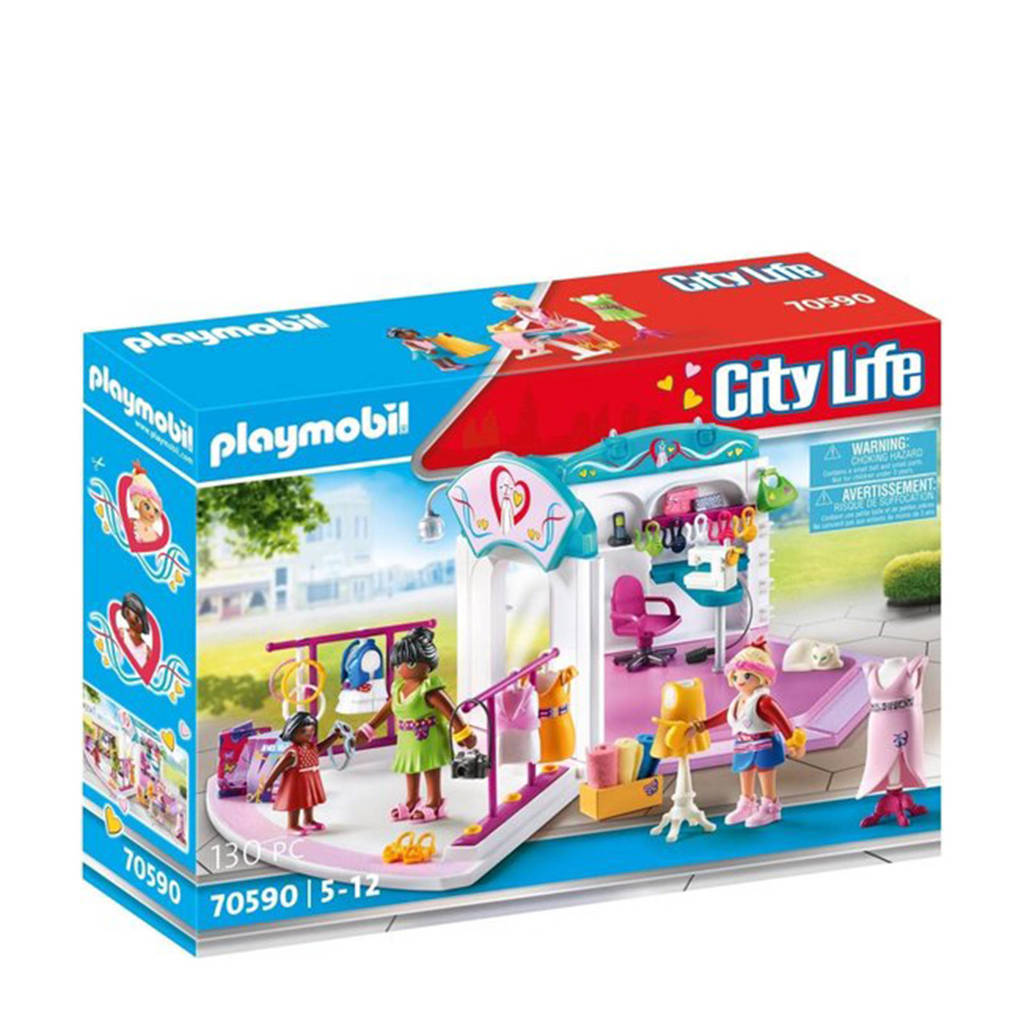 Playmobil City Life  Mode-ontwerpstudio 70590