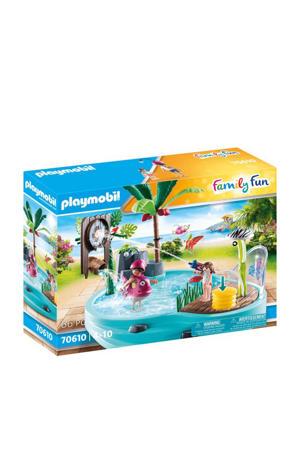 Leuk zwembad met watersplash 70610