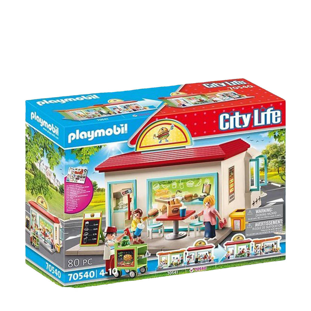 Playmobil City Life  Mijn hamburgertent  70540