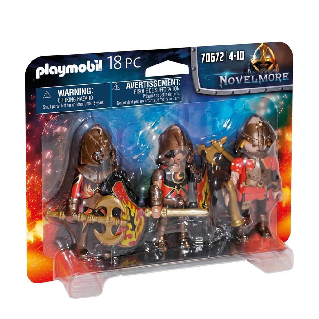 Playmobil Novelmore  Set van 3 Burnham Raiders 70672