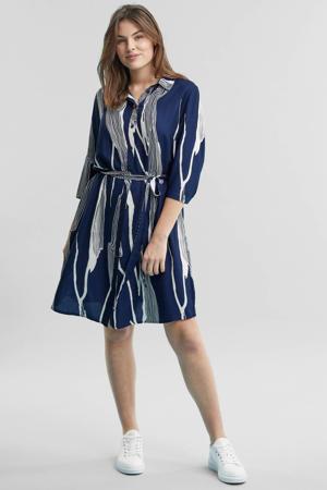 blousejurk blauw