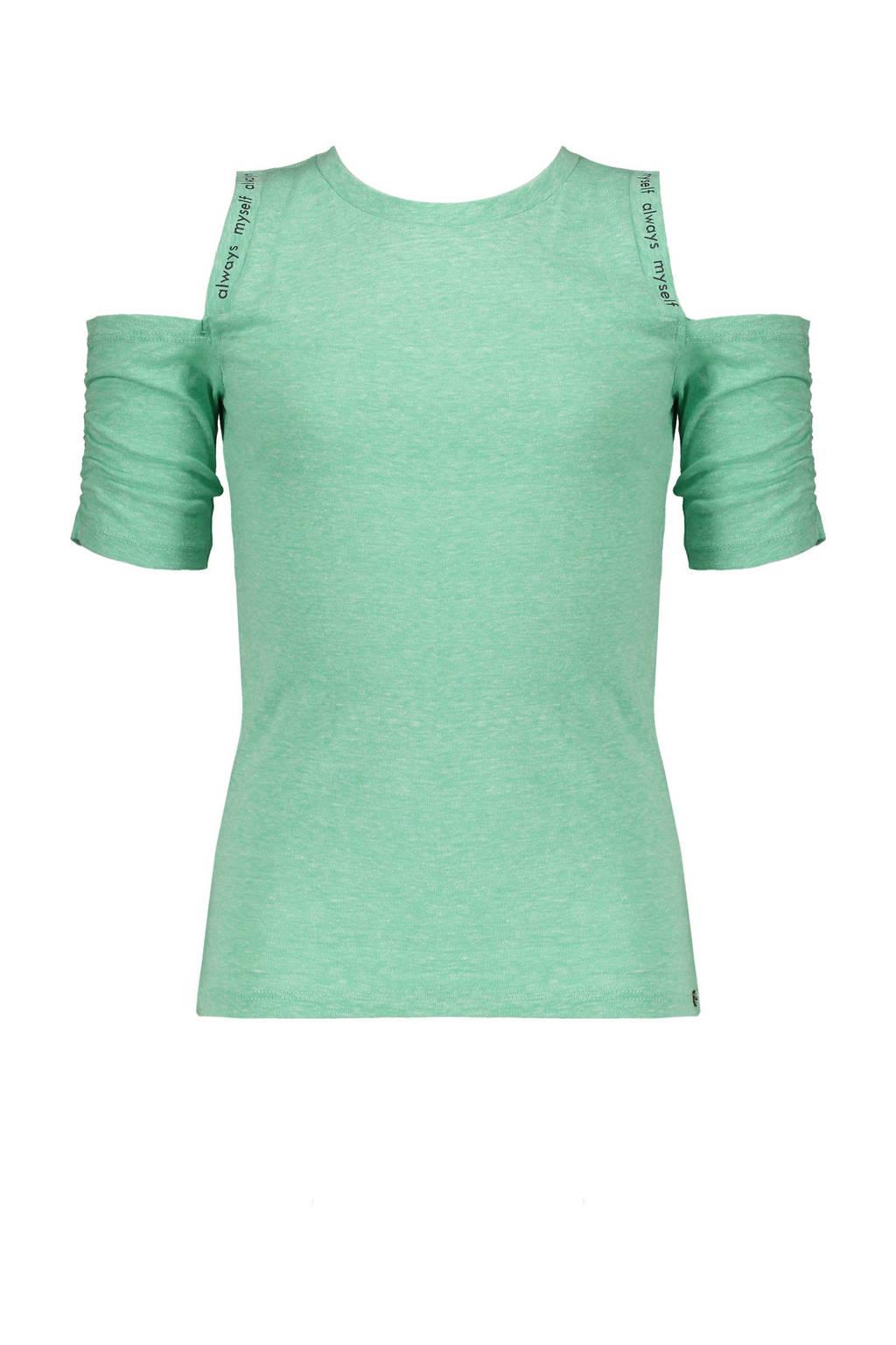 NoBell' gemêleerd T-shirt Keddy groen, Groen