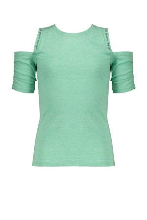 gemêleerd T-shirt Keddy groen