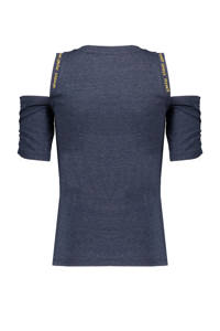 NoBell' gemêleerd T-shirt Keddy donkerblauw, Donkerblauw