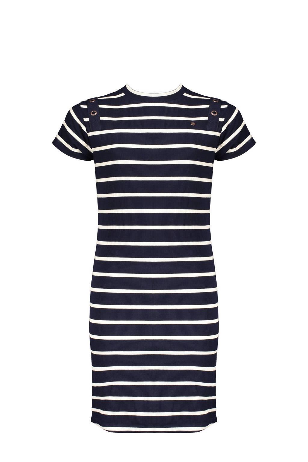 NoBell' gestreepte jurk Mizzyb donkerblauw/wit, Donkerblauw/wit