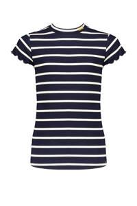 NoBell' gestreept T-shirt Kimas donkerblauw/wit, Donkerblauw/wit