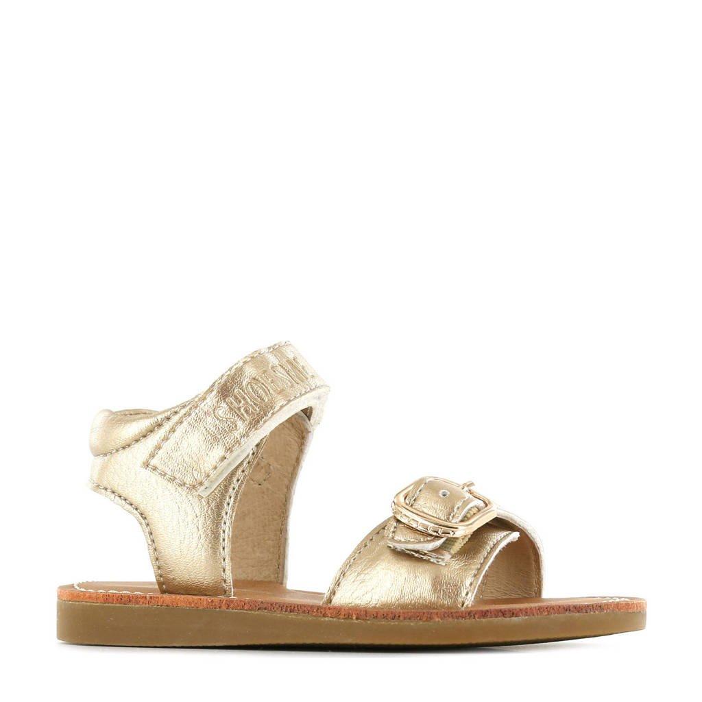 Shoesme CS21S004-E  leren sandalen goud, Goud