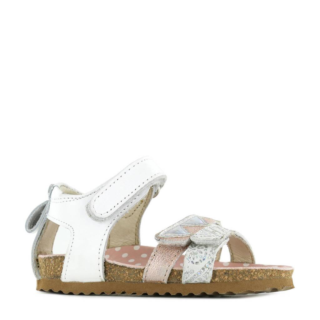 Shoesme BI21S080-D  leren sandalen wit, Wit