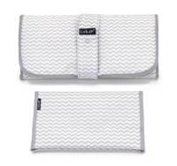 KipKep Napper combiverschonings-set (matje + etui) grijs/wit, Grijs/wit