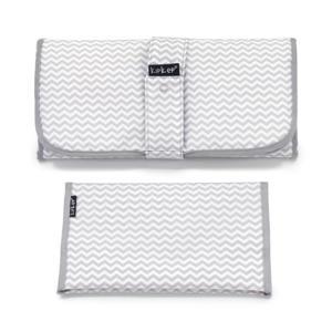 Napper combiverschonings-set (matje + etui) grijs/wit
