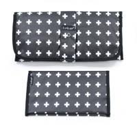 KipKep Napper combiverschonings-set (matje + etui) zwart/wit, Zwart/wit