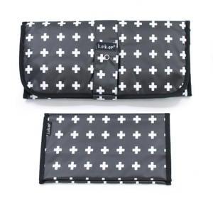 Napper combiverschonings-set (matje + etui) zwart/wit