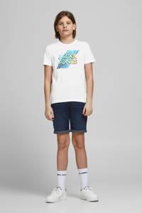 JACK & JONES JUNIOR T-shirt Spring met logo wit, Wit