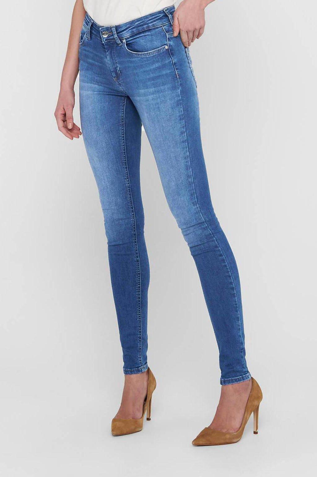 ONLY skinny jeans ONLBLUSH medium blue denim, Dark denim