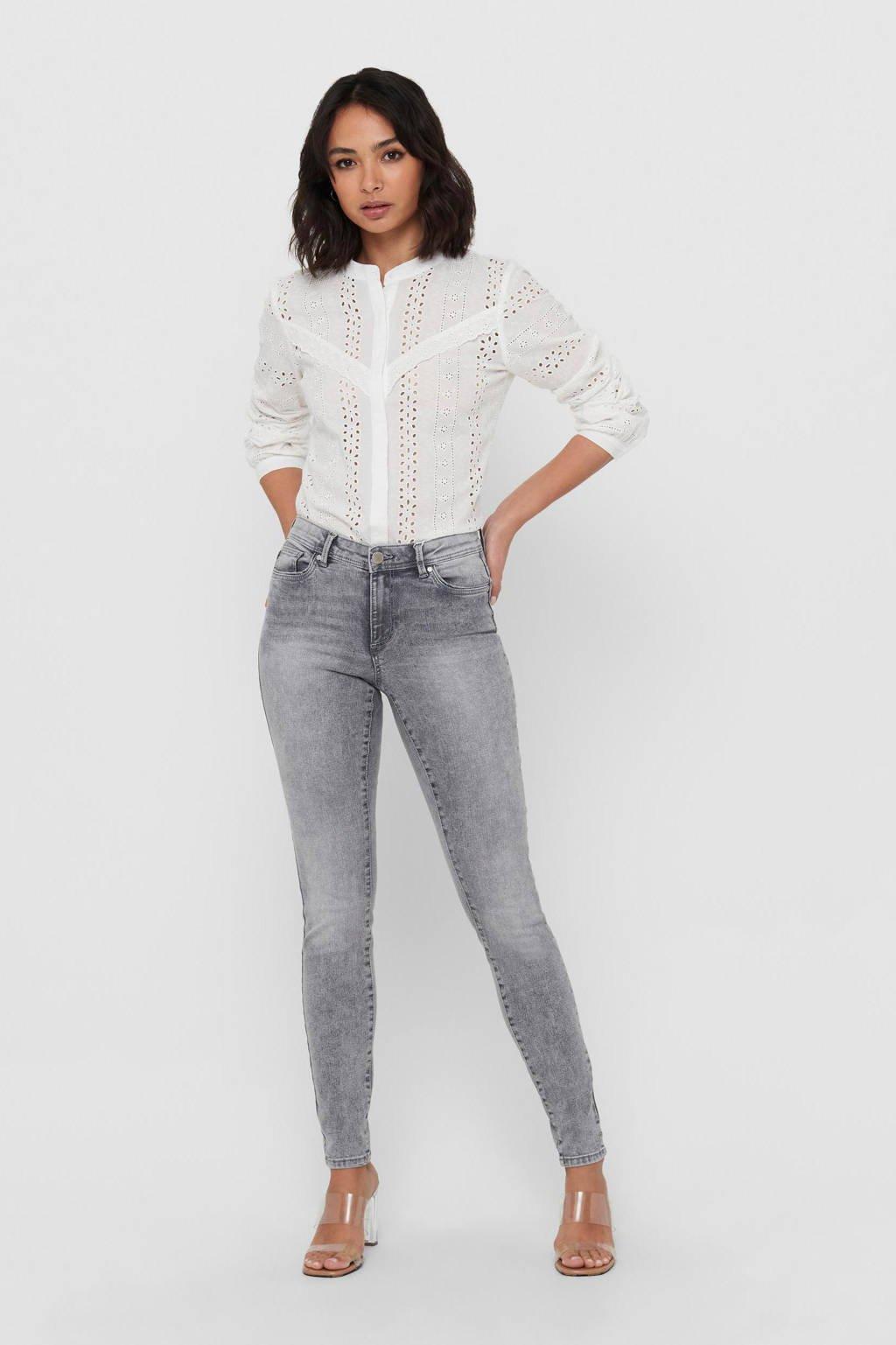 ONLY skinny jeans ONLWAUW medium grey denim