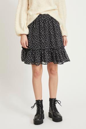 rok VICELIMA met all over print zwart/wit