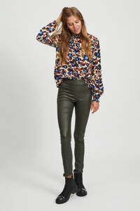 VILA blouse met all over print multi VISAG, Multi