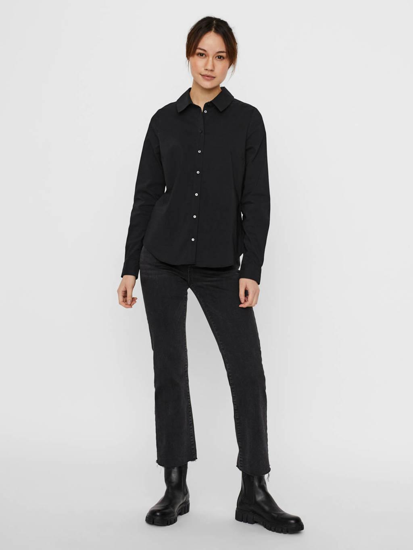 VERO MODA blouse VMJULIE zwart, Zwart