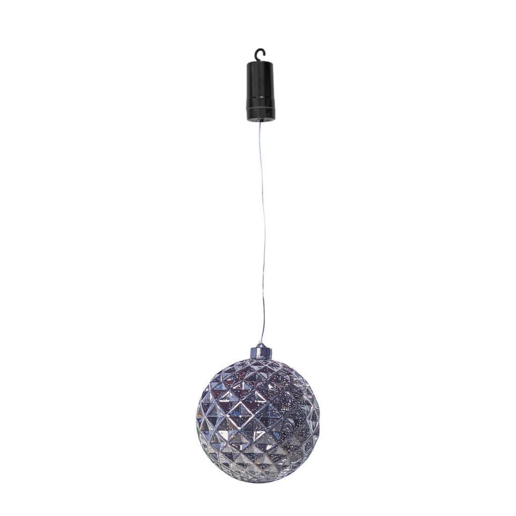 Luxform kerstverlichting X-Mas Ball Diamonds, Zilver