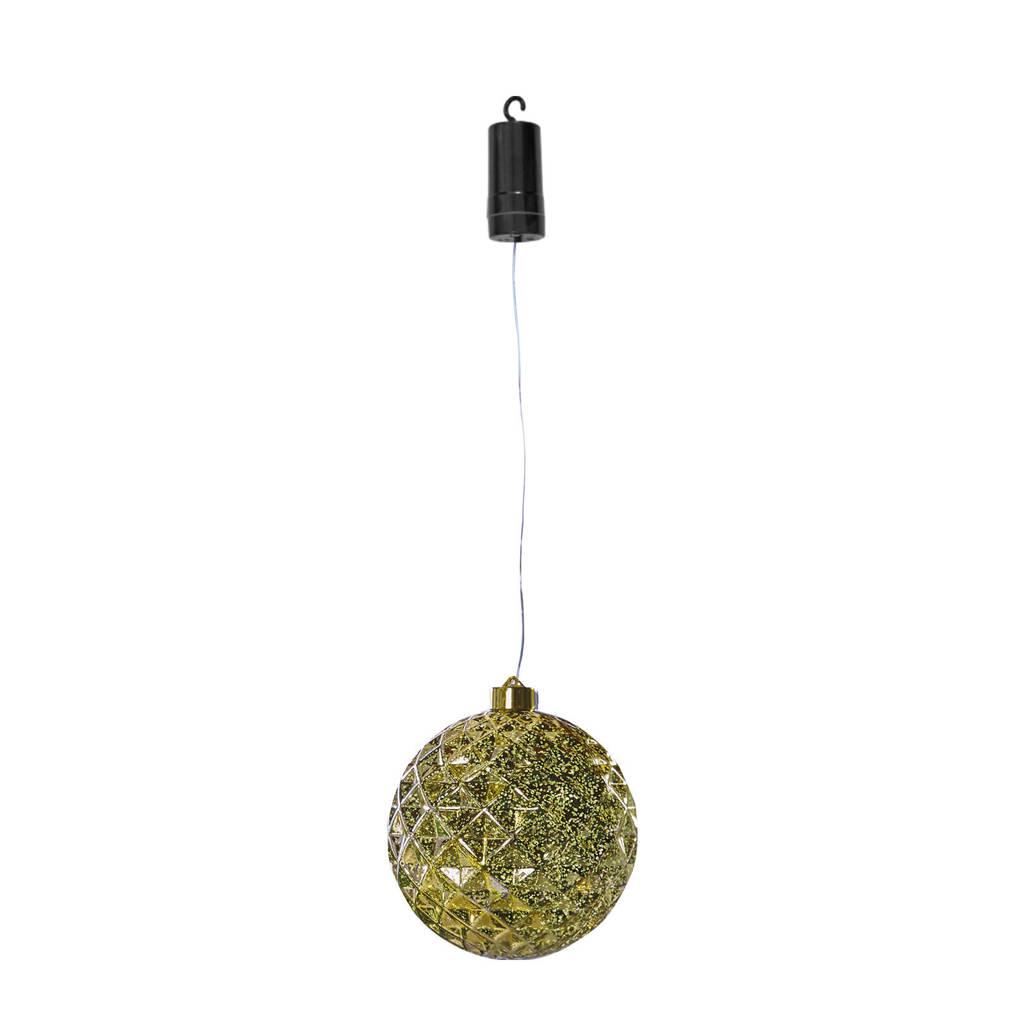 Luxform kerstverlichting X-Mas Ball Diamonds, Goud