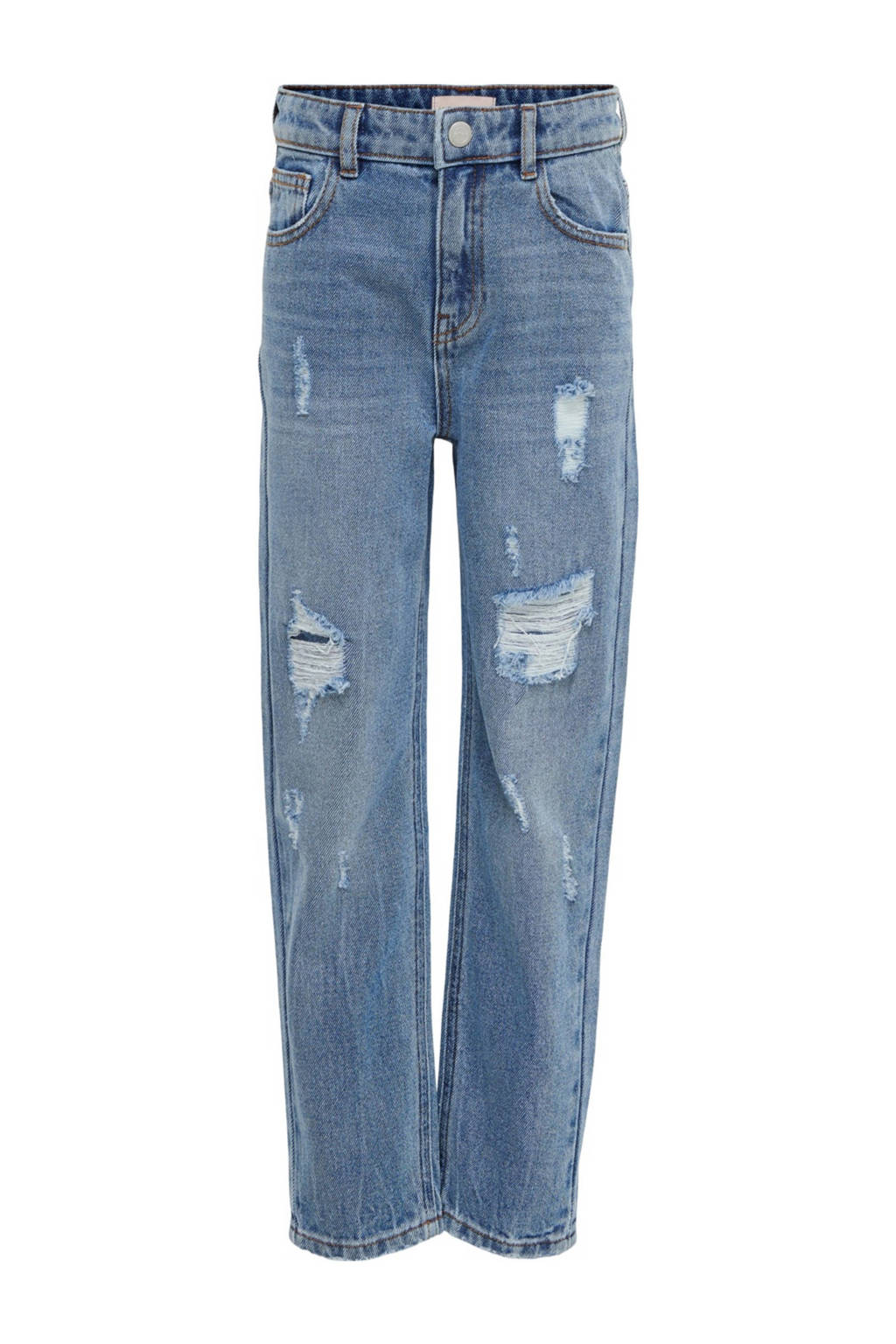 KIDS ONLY high waist mom jeans Calla light denim, Light denim